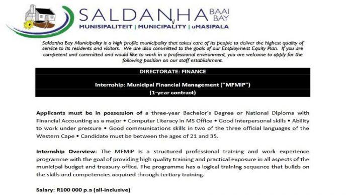 SA Internship