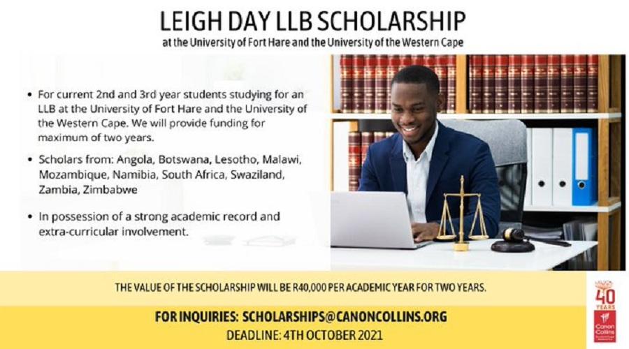 Leigh Day LLB Scholarship