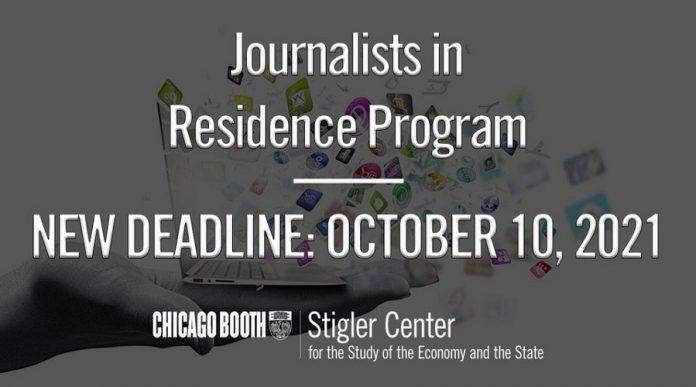 Journalists in Residence Program 2021